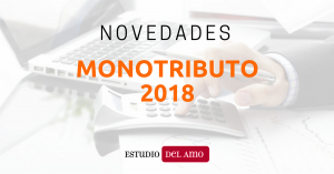 Novedades Monotributo 2018